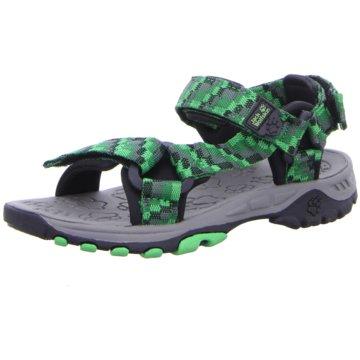 JACK WOLFSKIN Sandale grün