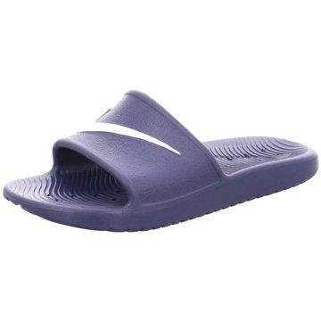 Nike Badelatsche blau
