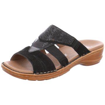 ara Komfort Pantolette schwarz