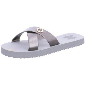 Flip-Flop Klassische Pantolette grau