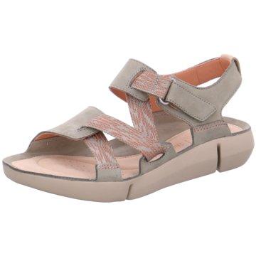 Clarks Komfort Sandale grün