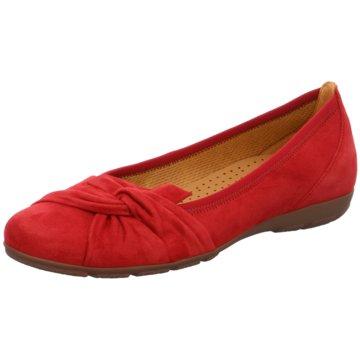 Gabor Klassischer Ballerina rot