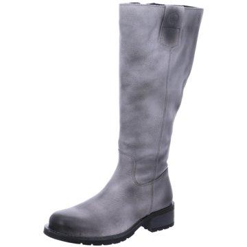 Jana Klassischer Stiefel grau