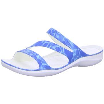 CROCS Badeschuh blau