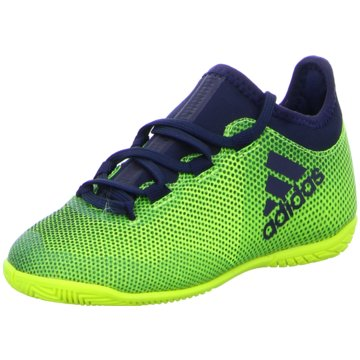 adidas Trainings- und Hallenschuh grün