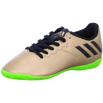 adidas Trainings- und Hallenschuh gold