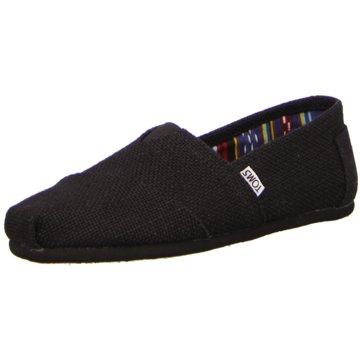 TOMS Sportlicher Slipper schwarz