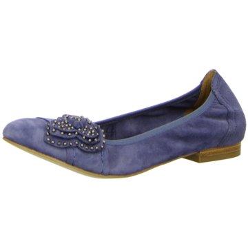 Caprice Faltbarer Ballerina blau