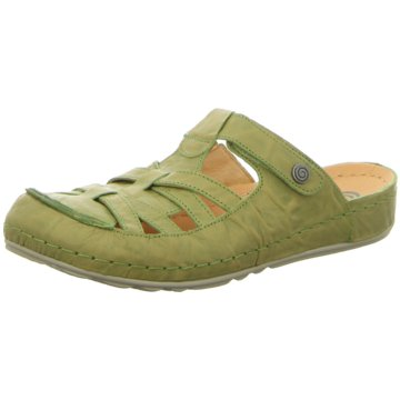 Pölking Komfort Pantolette grün