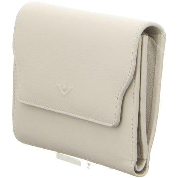 Voi Leather Design Geldbörse beige