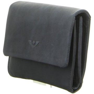 Voi Leather Design Geldbörse blau