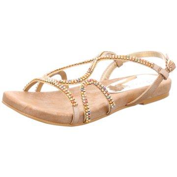 Alma en Pena Modische Sandaletten beige