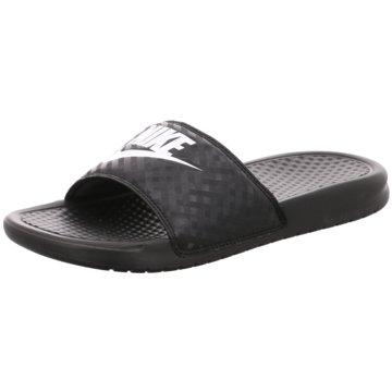 Nike Badeschuh schwarz