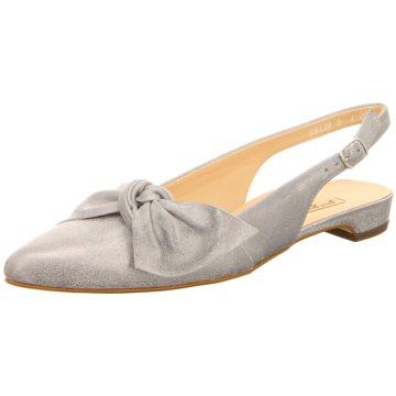 Paul Green Sling Ballerina grau