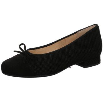 Hassia Klassischer Ballerina schwarz
