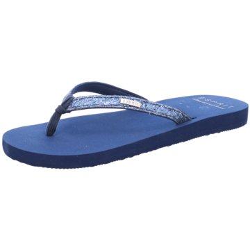 Esprit Bade- Zehentrenner blau