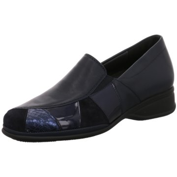 Semler Komfort Slipper blau