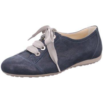 Semler Klassischer Schnürschuh blau