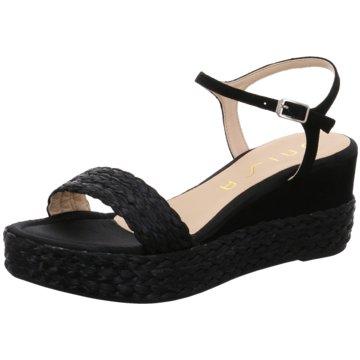 Unisa Modische Sandaletten schwarz