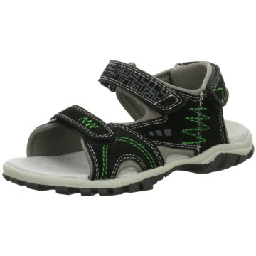 Indigo Sandale schwarz