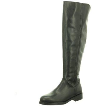 Lenci Klassischer Stiefel schwarz