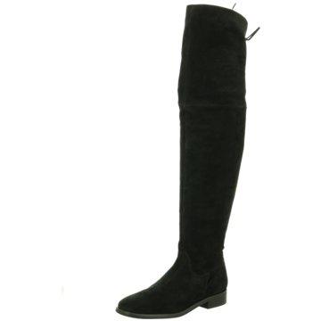 Lenci Overknee Stiefel schwarz