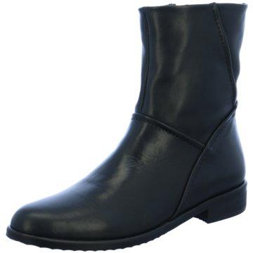 Ca`D`Oro Klassische Stiefelette schwarz
