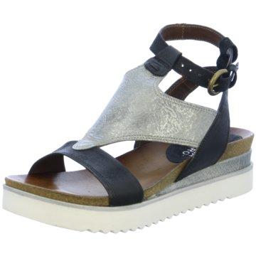 Martina Buraro Modische Sandaletten schwarz