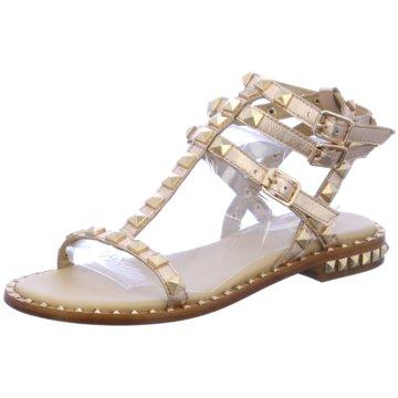 Ash Modische Sandaletten gold