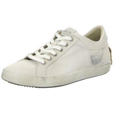 MACA Modische Sneaker weiß