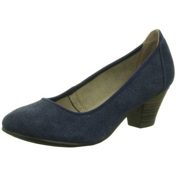 Soft Line Komfort Pumps blau