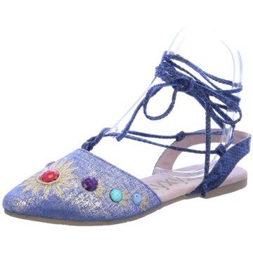 xyxyx Modische Ballerinas blau