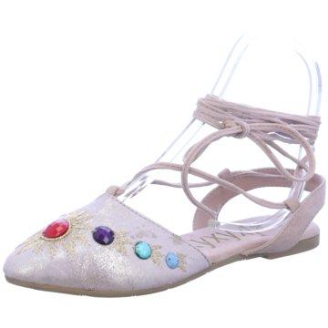 xyxyx Modische Ballerinas rosa