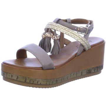 Inuovo Modische Sandaletten grau
