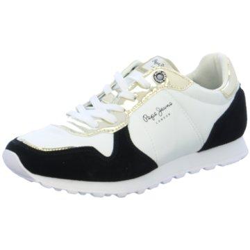 Pepe Jeans Sneaker Low weiß
