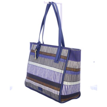 Fossil Shopper blau