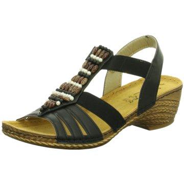 Vista Komfort Sandale schwarz