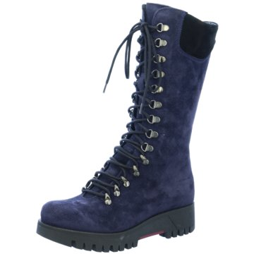 Manas Design Modische Stiefel blau