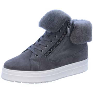 Caprice Sneaker Wedges grau