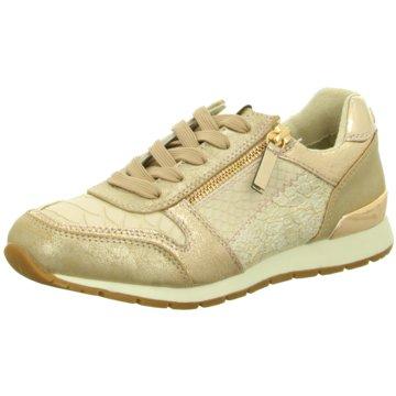 Tom Tailor Sneaker Low gold