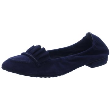 Kennel + Schmenger Modische Ballerinas blau