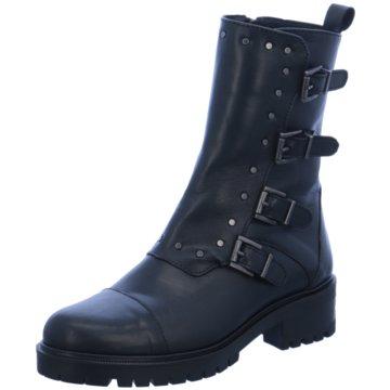 Alpe Woman Shoes Biker Boot schwarz