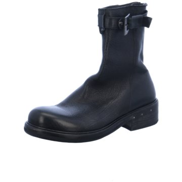 Moma Halbhoher Stiefel schwarz