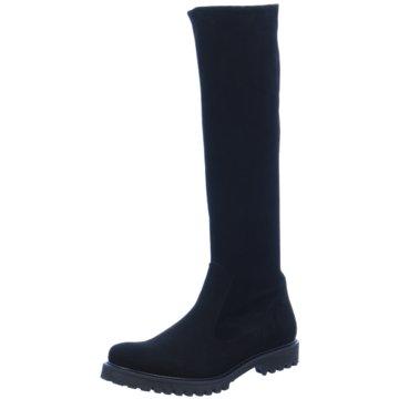 Perlato Klassischer Stiefel schwarz