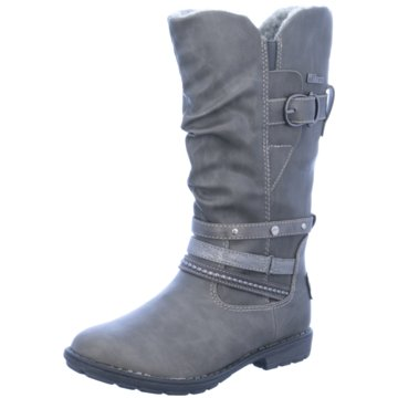 s.Oliver Hoher Stiefel grau