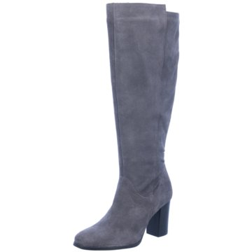 Lenci Klassischer Stiefel grau