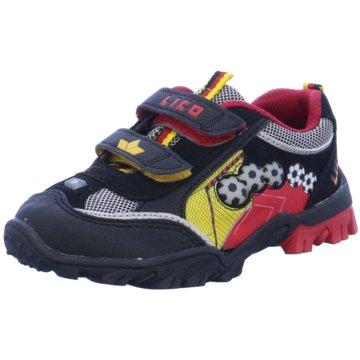 Lico Sneaker Low schwarz