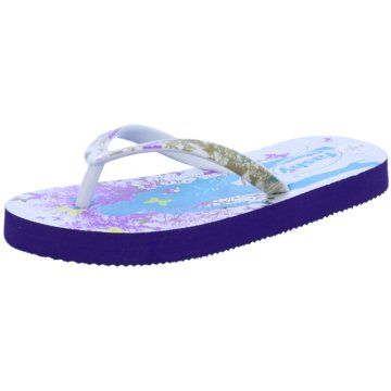Fashy Offene Schuhe lila