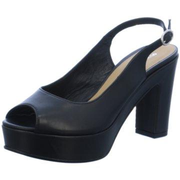 Donna Piu Modische High Heels schwarz