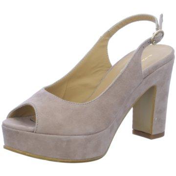 Donna Piu Modische High Heels grau